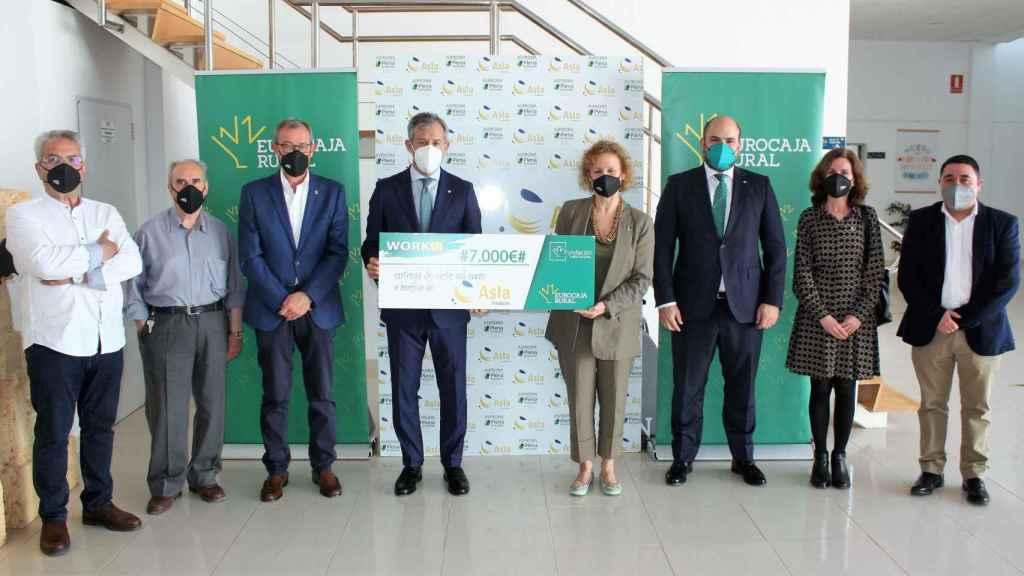 La Fundación ASPRONA Laboral recibe su premio 'WORKIN'