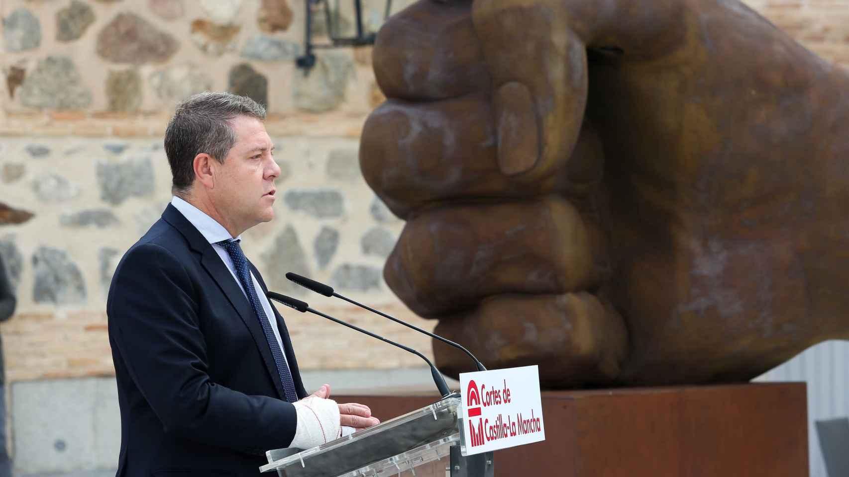 La escultura con la que Castilla-La Mancha recordará siempre a las víctimas de la pandemia