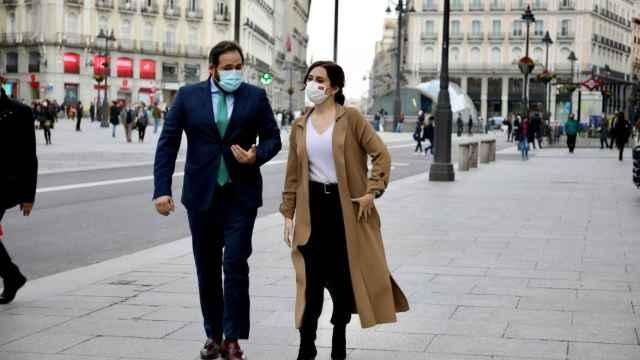 Núñez y Ayuso en una imagen de archivo
