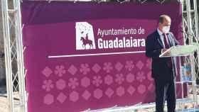 Alberto Rojo, en la presentación de la nueva imagen corporativa del Ayuntamiento. Foto: EP
