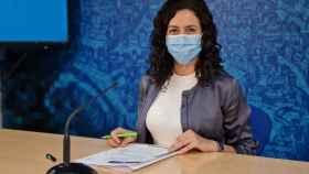 Noelia de la Cruz, portavoz del Ayuntamiento de Toledo. Foto: EP
