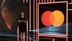 Paloma Real, directora general de Mastercard en España, durante el evento.