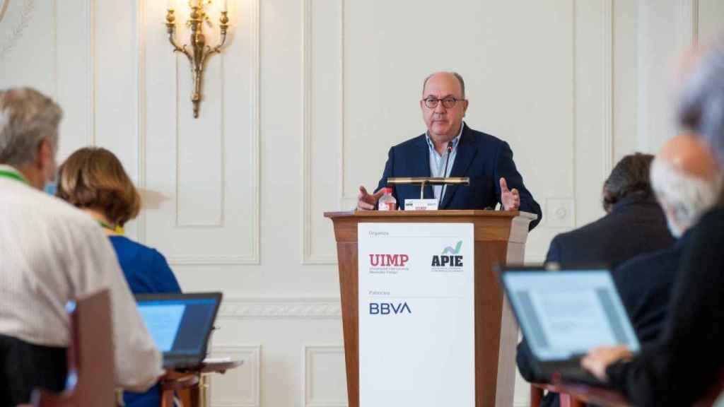 José María Roldán, presidente de la Asociación Española de Banca (AEB).