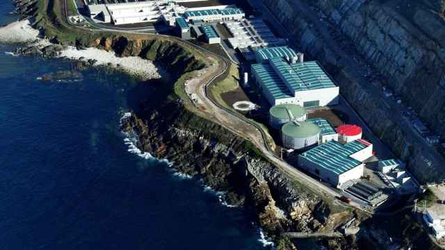 Estación Depuradora de Aguas Residuales de Bens (Coruña).
