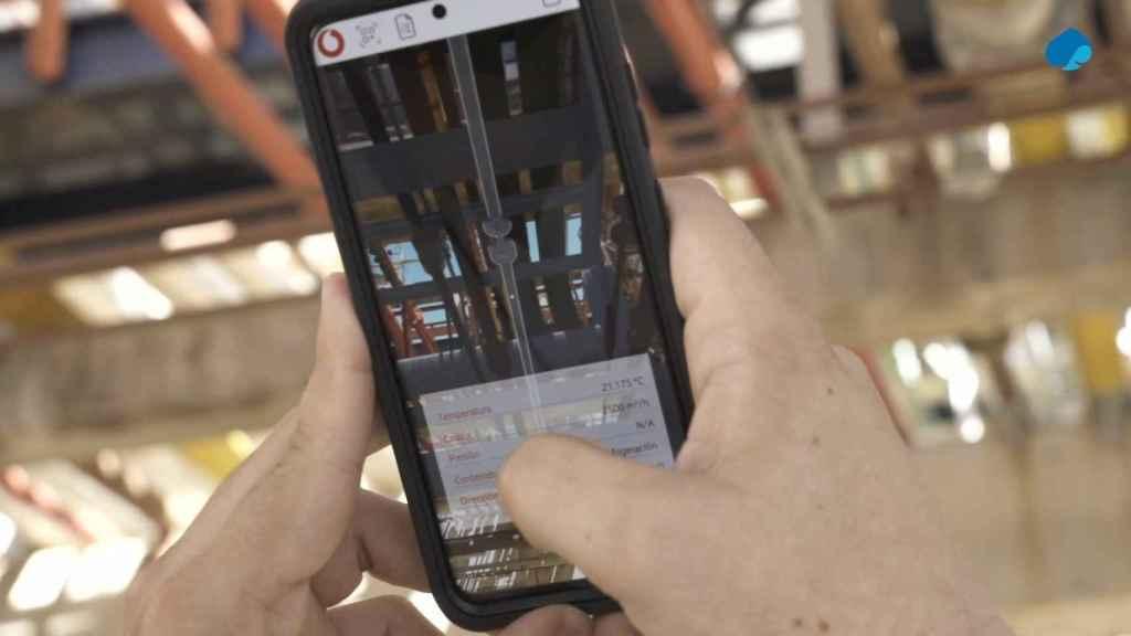 Cepsa utiliza el 5G de Vodafone para optimizar los procesos de su refinería de Palos (Huelva)