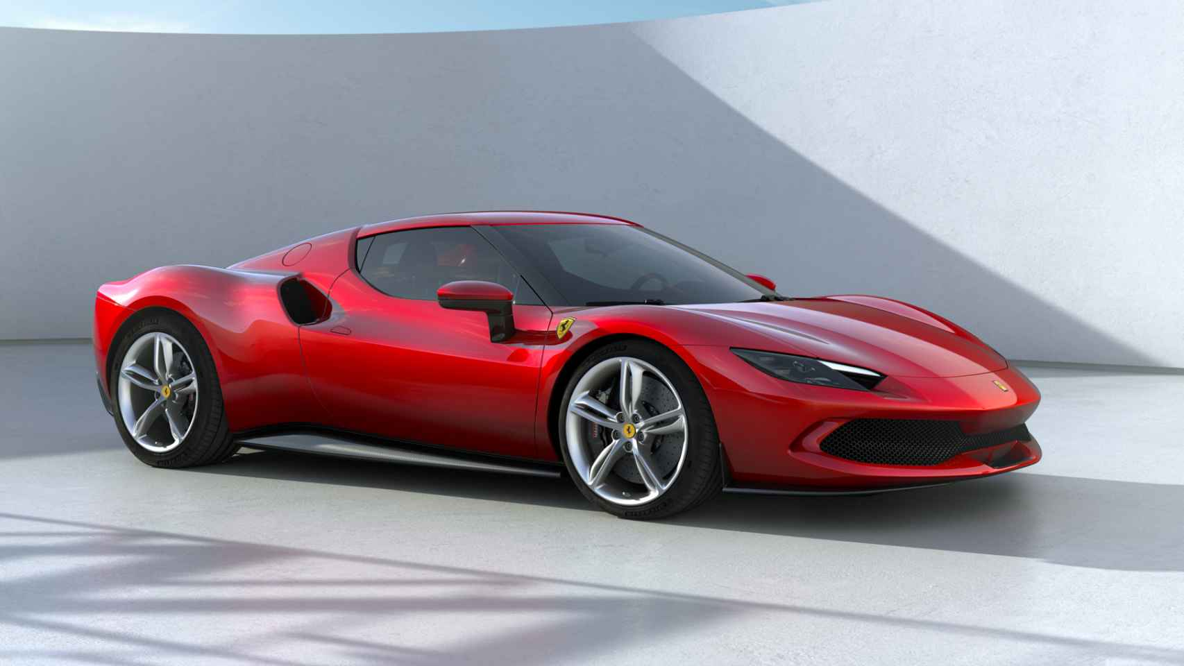 Ferrari se pasa a los coches electrificados; así es el último deportivo de la marca italiana