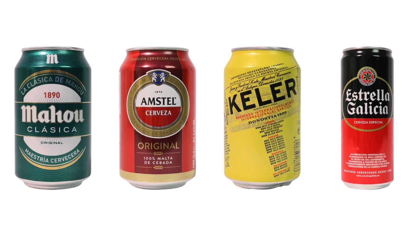 Las 12 mejores cervezas del 'súper', según la OCU