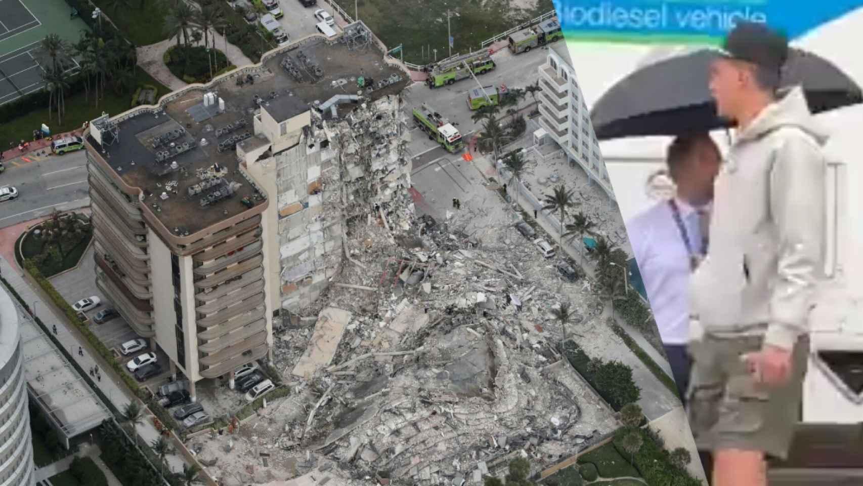 Tyler Herro, en el derrumbe en Miami