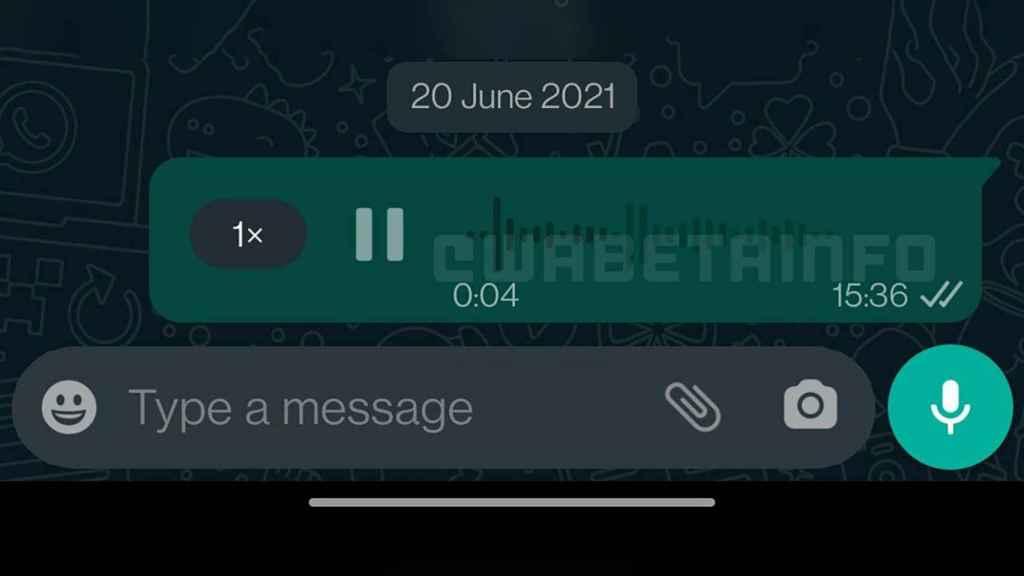 Notas de voz de WhatsApp