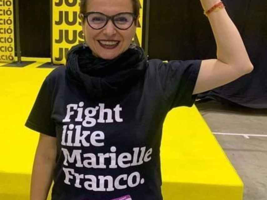 Camiseta en homenaje a Marielle Franco, la activista brasileña asesinada en 2018
