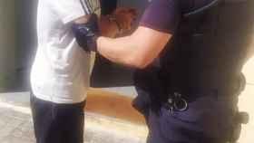 Poli Díaz detenido por la Policía Nacional