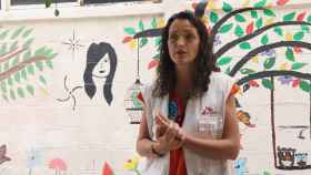 La cooperante española de Médicos Sin Fronteras, María Hernández.