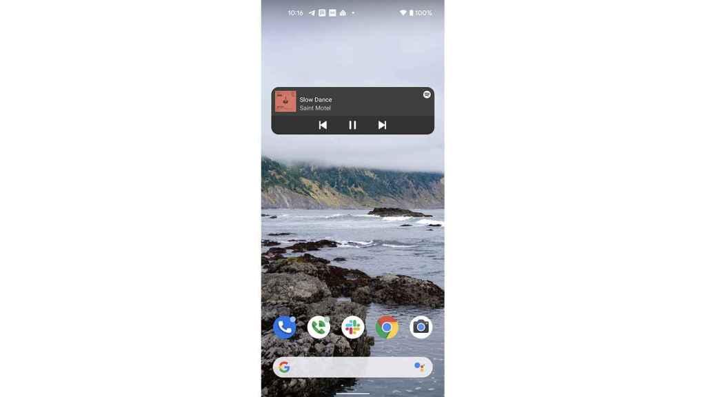 New Spotify widget