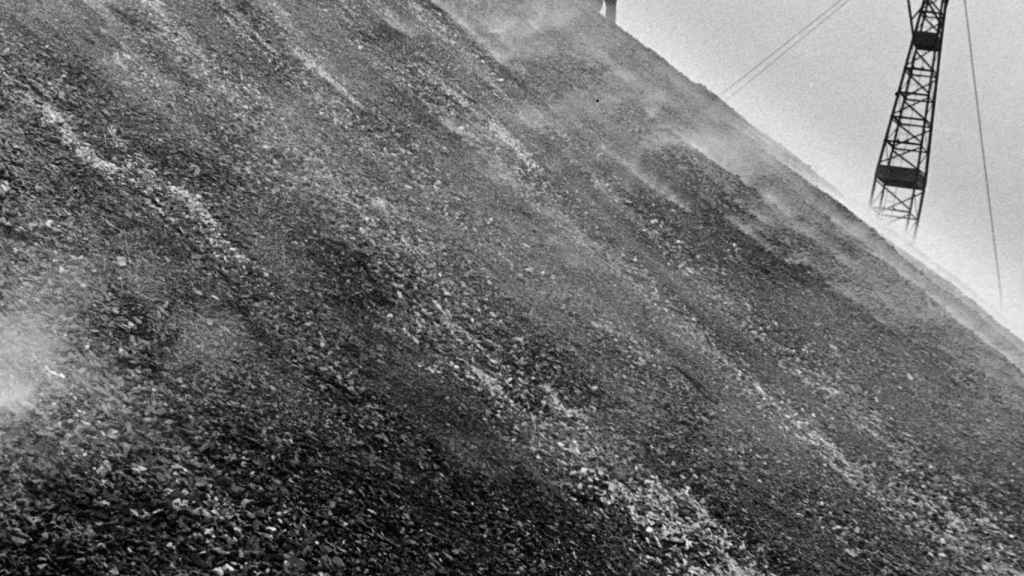 Buscadores de carbón en East Durham, 1937