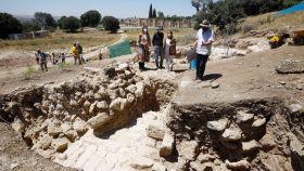 Los restos arqueológicos que han salido a la luz en Medina Azahara.