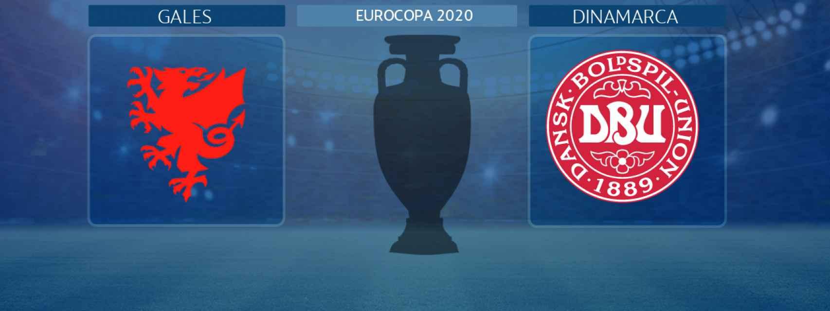 Gales - Dinamarca, partido de la Eurocopa 2020
