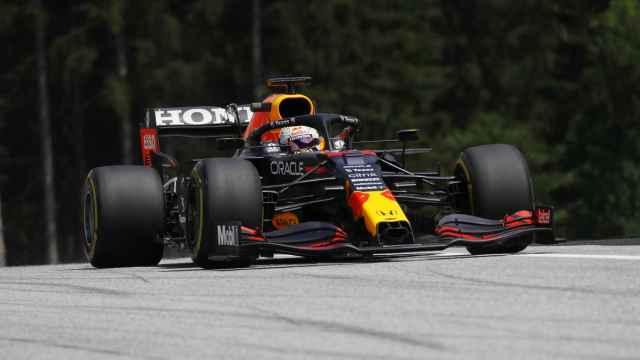 Max Verstappen en el Gran Premio de Estiria