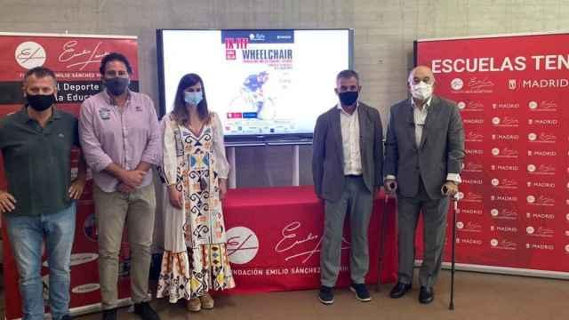 Presentación del IX ITF Wheelchair Fundación Emilio Sánchez Vicario