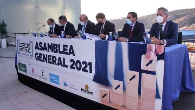 Clausura de la asamblea de CEOE CEPYME Cuenca