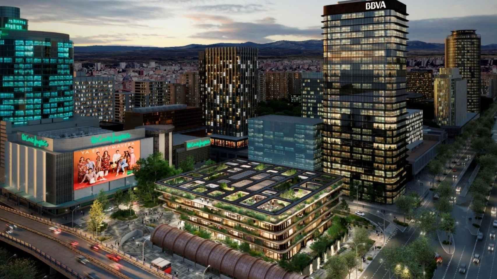 El Corte Inglés elige a Heatherwick Studio para desarrollar un edificio de oficinas en Castellana (Madrid)