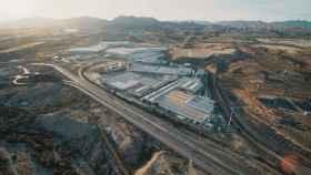 Parque Industrial de Cosentino en Almería