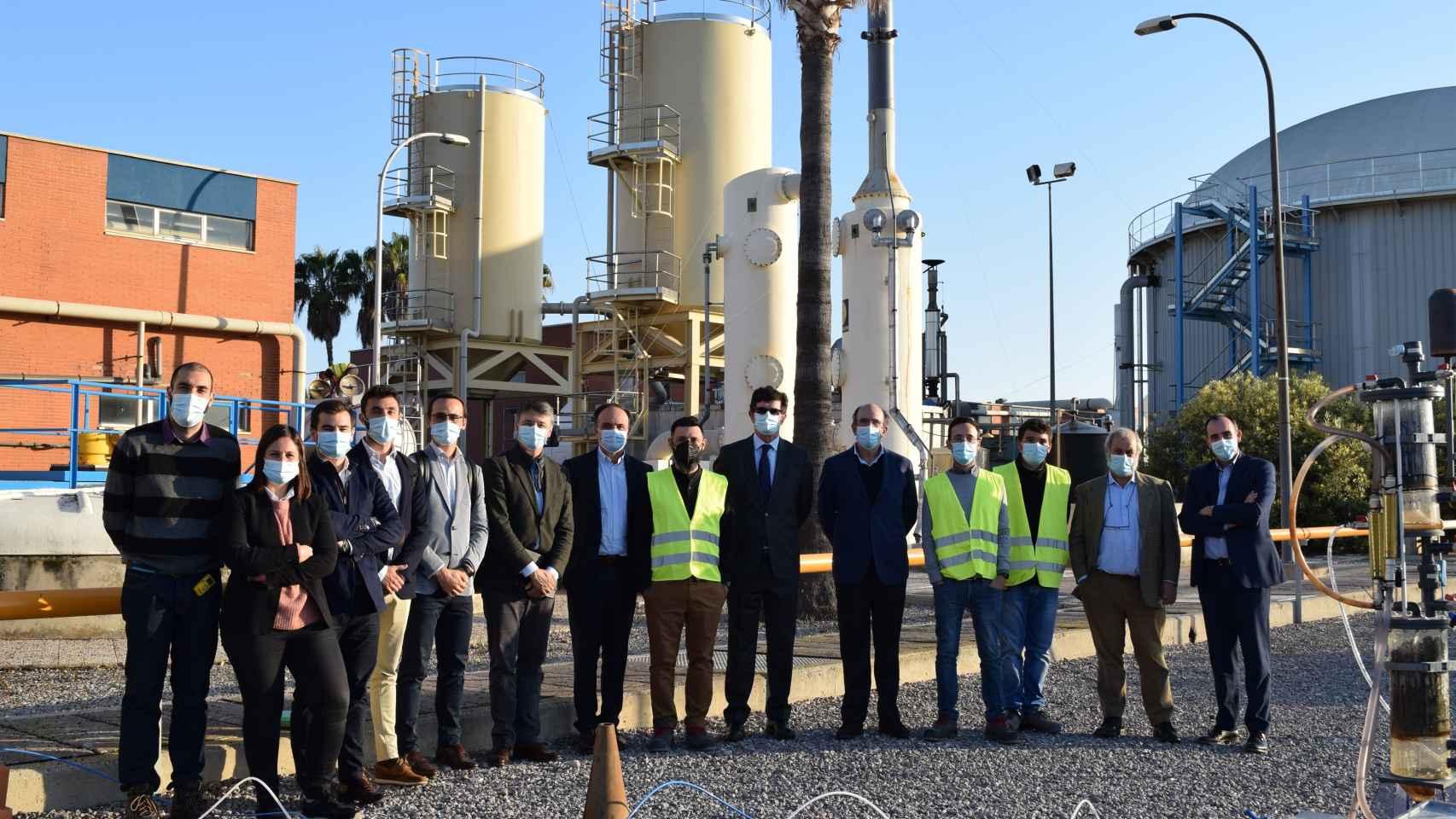 Enagás y Facsa impulsan un proyecto para producir biometano con aguas residuales