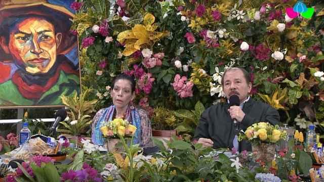 Daniel Ortega, presidente de Nicaragua, en la XIX cumbre de jefes de Estado y de Gobierno de la ALBA.