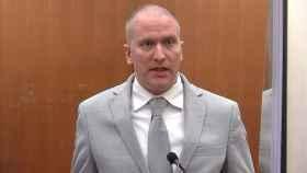 Derek Chauvin, condenado a 22 años de prisión por el asesinato de George Floyd. EP
