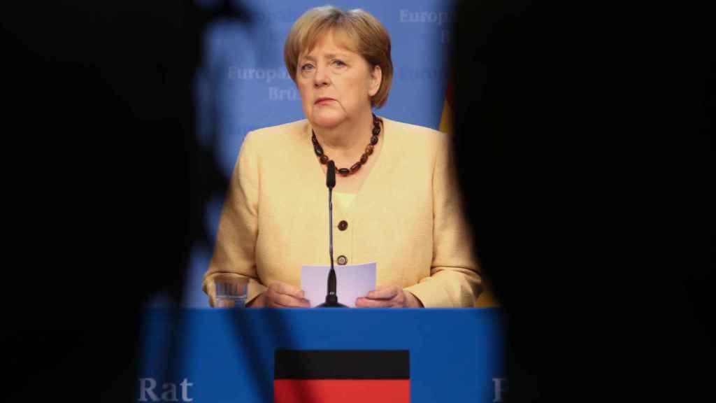 Merkel, en una imagen de archivo.