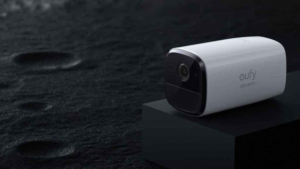 La cámara tiene una sirena para alertar a los usuarios de una intrusión.