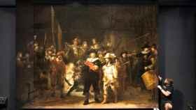 'Ronda de Noche' de Rembrandt.