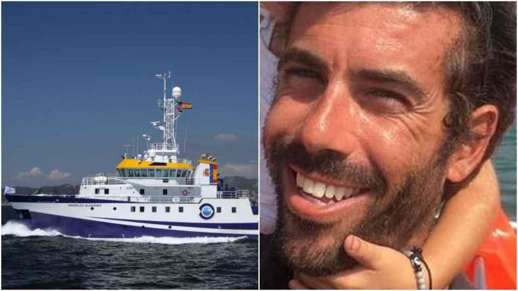 El buque oceanográfico Ángeles Alvariño. Y Tomás Gimeno, presunto asesino de sus hijas.