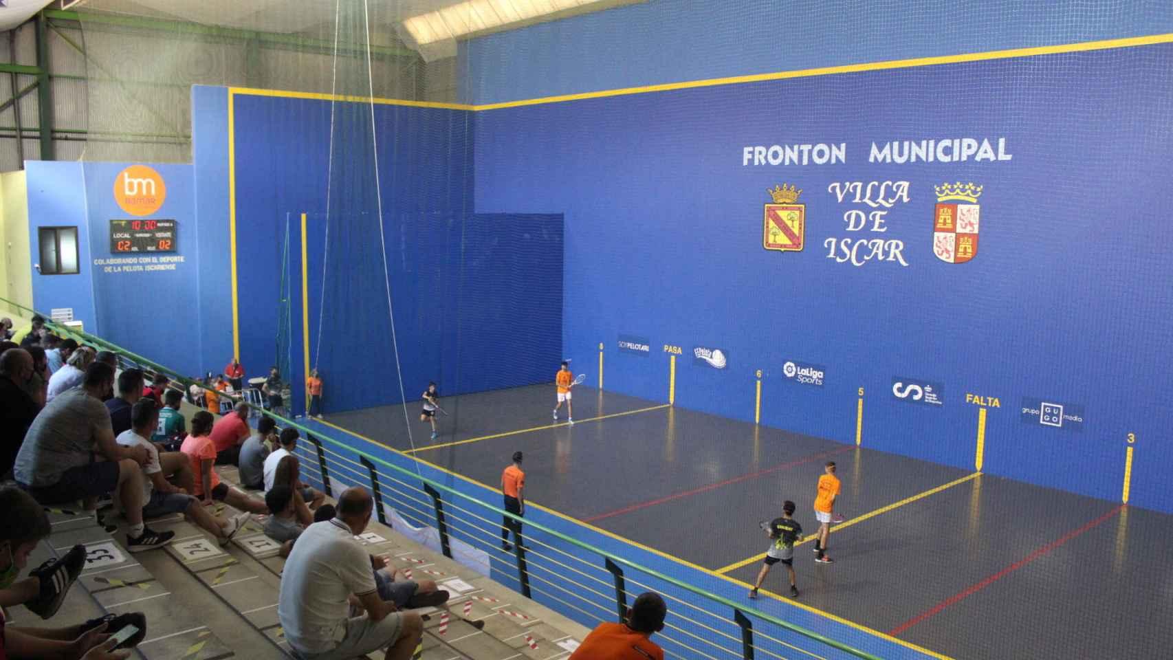 Campeonato Nacional de Pelota de Edad Escolar en Íscar y Pedrajas 1