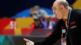 Lucas Mondelo durante el Eurobasket