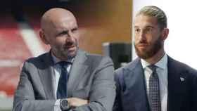 Monchi y Sergio Ramos