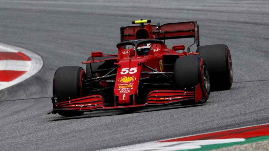 Carlos Sainz en el Gran Premio de Estiria de Fórmula 1