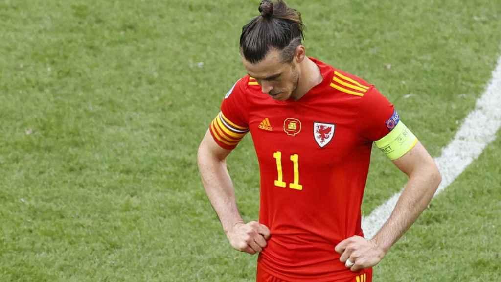 Gareth Bale, tras la eliminación de la selección de Gales de la Eurocopa 2020