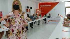 La coordinadora de Ciudadanos en Castilla-La Mancha, Carmen Picazo.
