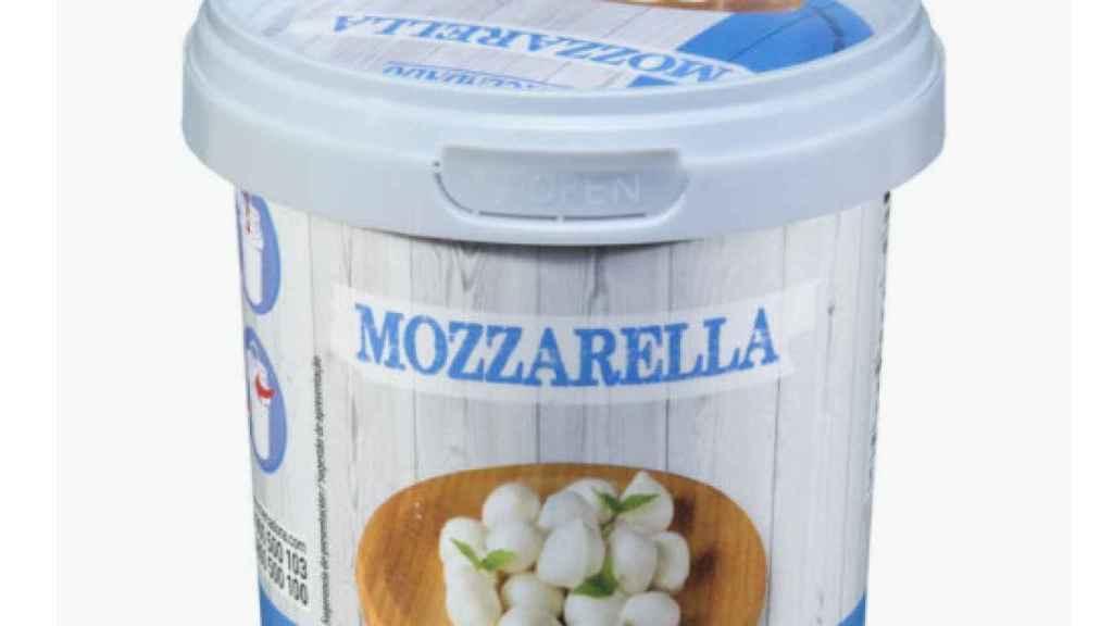 La tarrina de perlas de mozzarella de Hacendado.