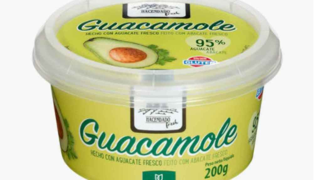 La tarrina de guacamole de Hacendado.