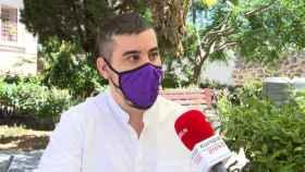 José Luis García Gascón,  coordinador de Podemos en Castilla-La Mancha (EP)