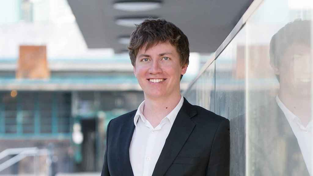 Florian Wimmer, consejero delegado y cofundador de Blockpit.