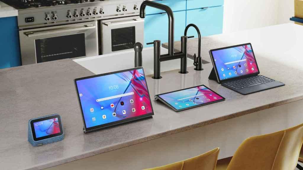 Las nuevas tablets y reloj de Lenovo