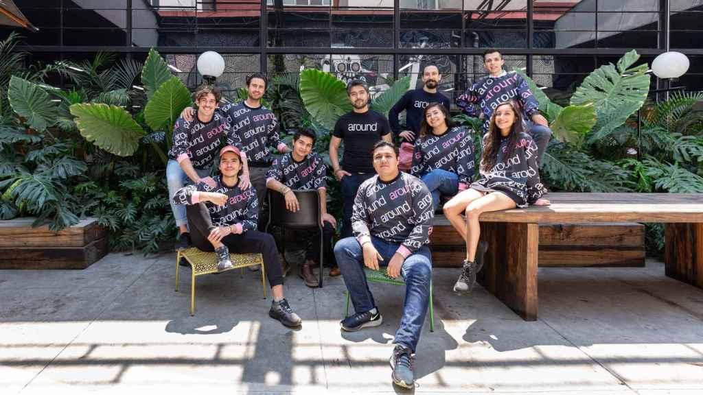 Equipo humano que hay detrás la startup Around, ahora en fase de expansión.
