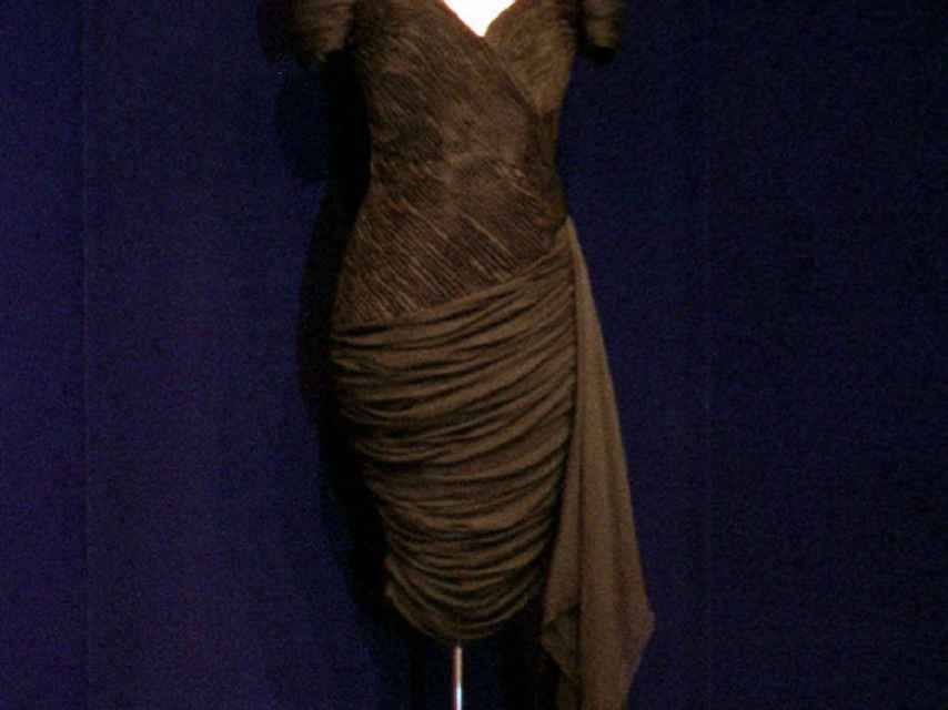 Stambolian is the signature of the dress Diana chose.
