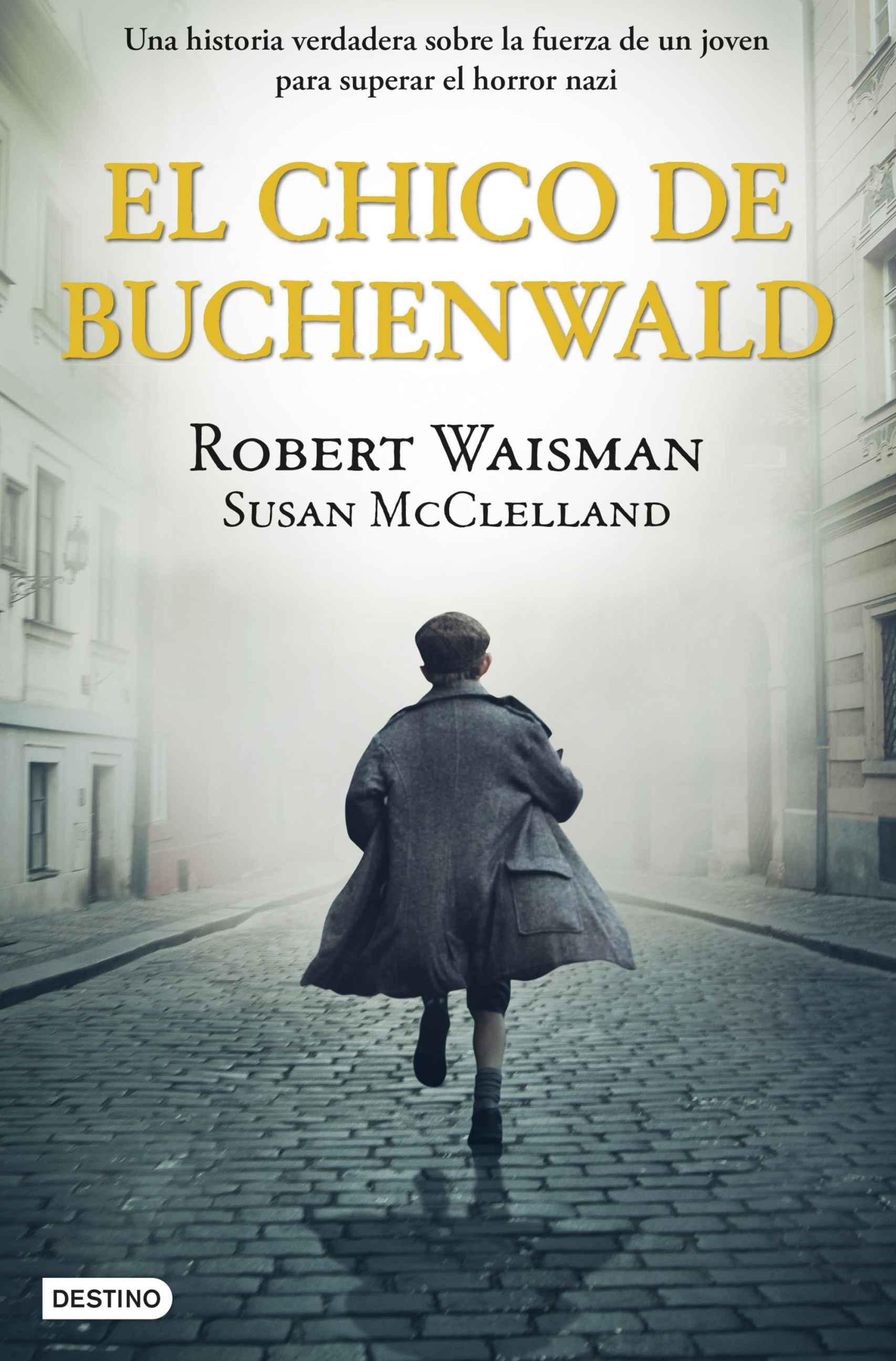 Portada de 'El chico de Buchenwald'.