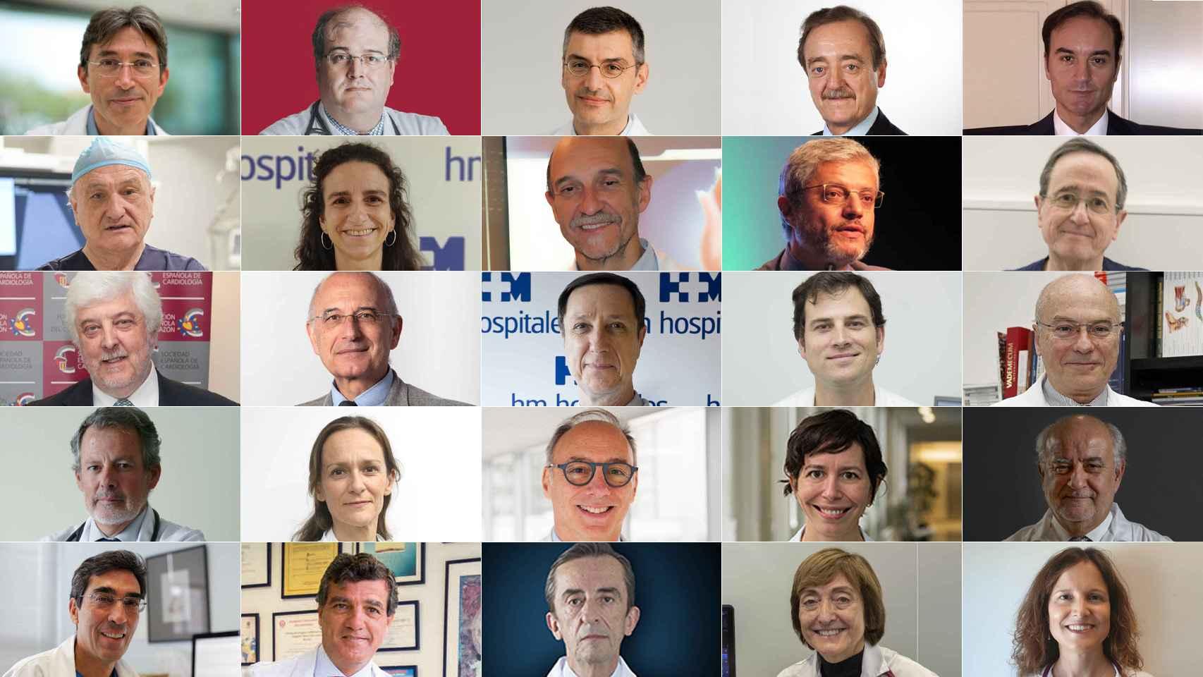 Los 25 mejores cardiólogos de España: estos son los grandes sabios del corazón de nuestro país