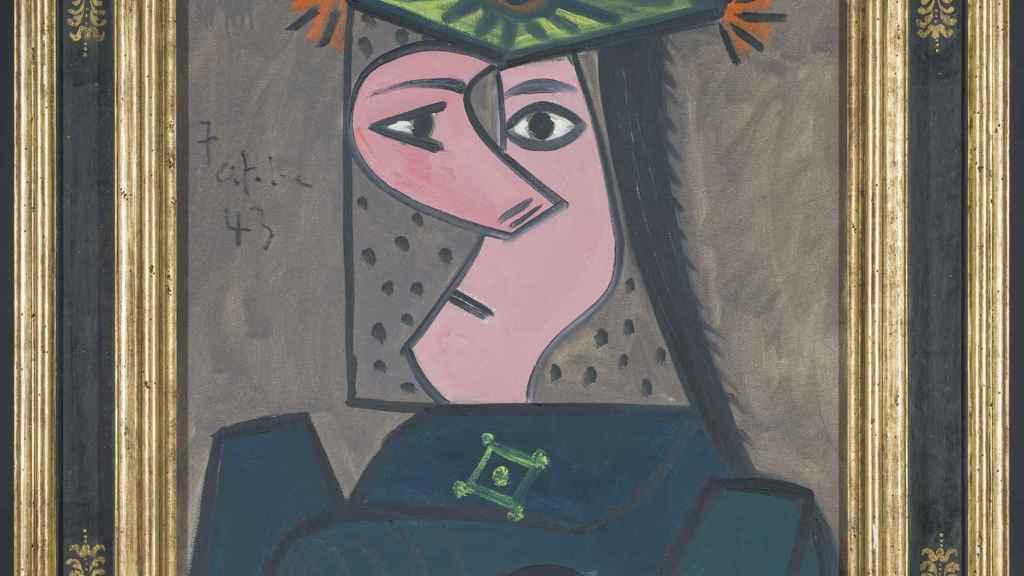'Buste de femme 43', el cuadro de Picasso.