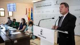 Page inaugura el Consejo Regional de Formación Profesional.
