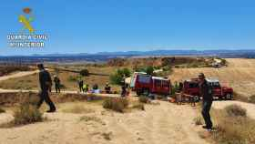 Rescate en las Barrancas de Burujón (Toledo).
